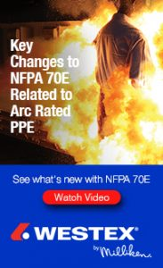 Watch the Westex by Milliken webinar to see what's new with NFPA 70E