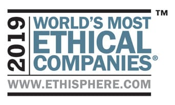 Westex 2018 World's most Ethical Companies Award